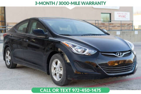 2015 Hyundai Elantra for sale in Denton, TX