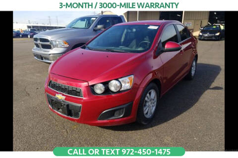 2016 Chevrolet Sonic for sale in Denton, TX