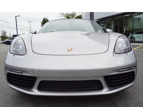 2017 Porsche 718 Boxster for sale in Edison, NJ