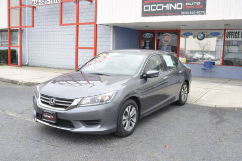 2013 Honda Accord LX for sale at Allied Automotive in Edison NJ
