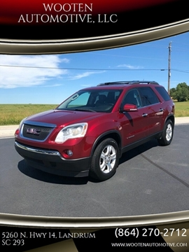 2007 GMC Acadia for sale in Landrum, SC