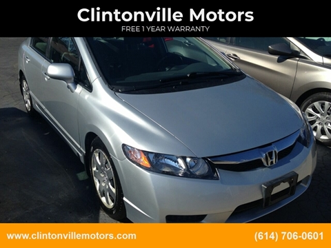 2010 Honda Civic LX for sale at Clintonville Motors in Columbus OH