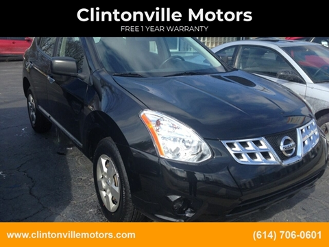2013 Nissan Rogue S for sale at Clintonville Motors in Columbus OH
