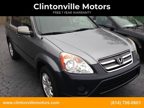 2006 Honda CR-V EX for sale at Clintonville Motors in Columbus OH