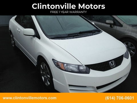 2009 Honda Civic LX for sale at Clintonville Motors in Columbus OH