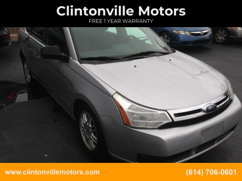 2011 Ford Focus SE for sale at Clintonville Motors in Columbus OH