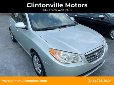 2008 Hyundai Elantra for sale at Clintonville Motors in Columbus OH