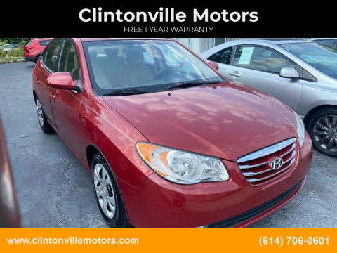 2010 Hyundai Elantra for sale at Clintonville Motors in Columbus OH