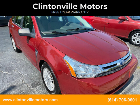 2010 Ford Focus for sale at Clintonville Motors in Columbus OH