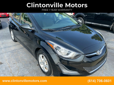2015 Hyundai Elantra for sale at Clintonville Motors in Columbus OH