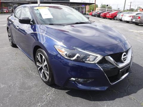 2016 Nissan Maxima for sale in Valdosta, GA