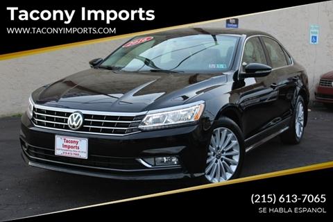 2016 Volkswagen Passat for sale in Philadelphia, PA