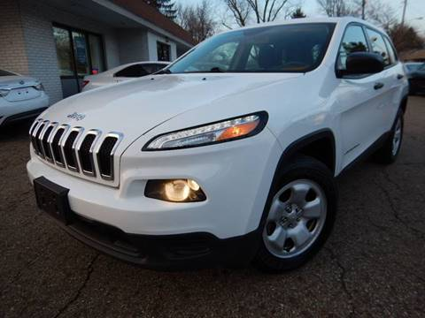 2015 Jeep Cherokee for sale in Akron, OH