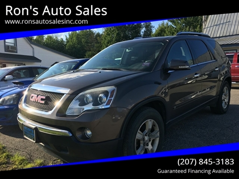 2009 GMC Acadia for sale in Washington, ME