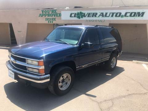 Chevy Tahoe For Sale Near Me >> 1995 Chevrolet Tahoe For Sale In Casa Grande Az