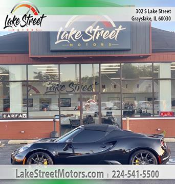 2016 Alfa Romeo 4C for sale in Grayslake, IL