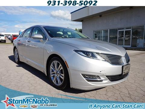 2015 Lincoln MKZ for sale in Columbia, TN
