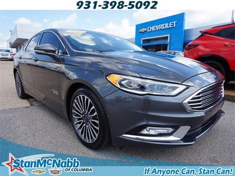 2017 Ford Fusion Energi for sale in Columbia, TN