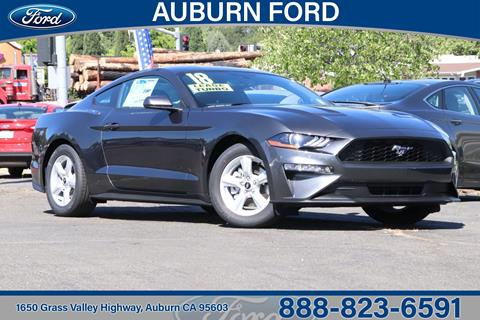 2018 Ford Mustang for sale in Auburn, CA