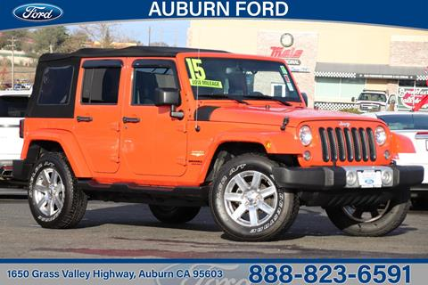 2015 Jeep Wrangler Unlimited for sale in Auburn, CA
