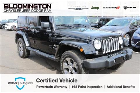 2018 Jeep Wrangler Unlimited for sale in Minneapolis, MN