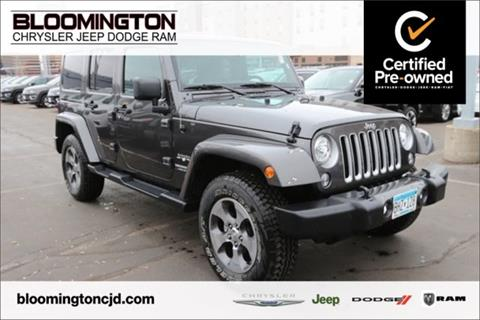 2017 Jeep Wrangler Unlimited for sale in Minneapolis, MN
