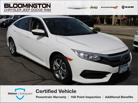2016 Honda Civic for sale in Minneapolis, MN