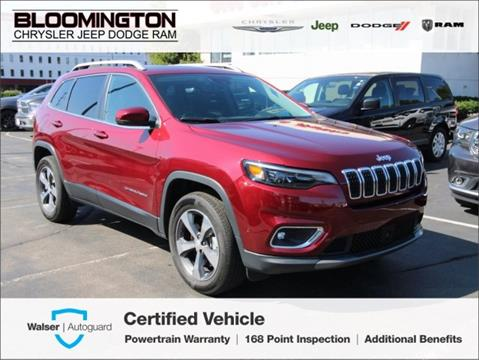 Used Cars For Sale In Mn >> 2019 Jeep Cherokee For Sale In Minneapolis Mn