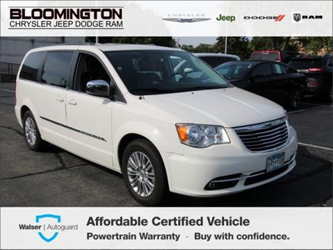 Used Cars Minneapolis >> 2013 Chrysler Town And Country For Sale In Minneapolis Mn