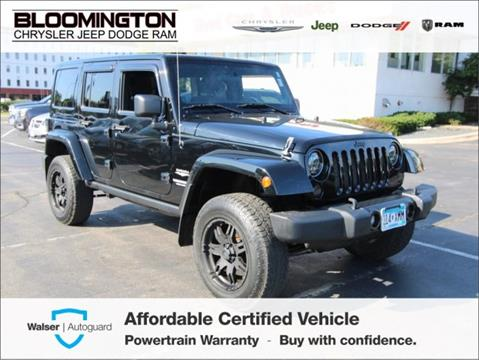 2011 Jeep Wrangler Unlimited for sale in Minneapolis, MN