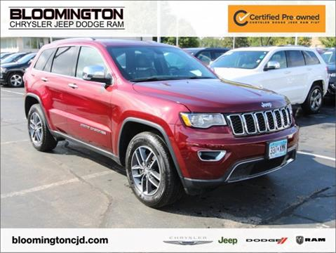 2017 Jeep Grand Cherokee for sale in Minneapolis, MN
