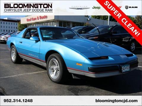 1989 Pontiac Firebird for sale in Minneapolis, MN