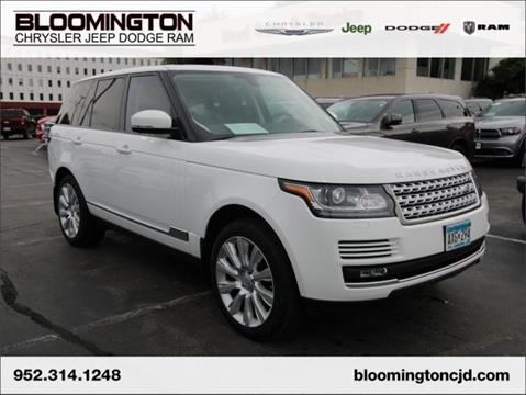 2015 Land Rover Range Rover for sale in Minneapolis, MN