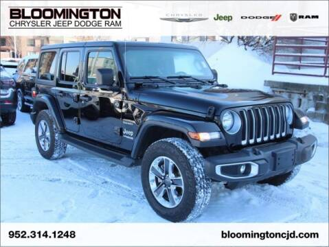 2019 Jeep Wrangler Unlimited for sale at Bloomington Chrysler Jeep Dodge Ram in Minneapolis MN