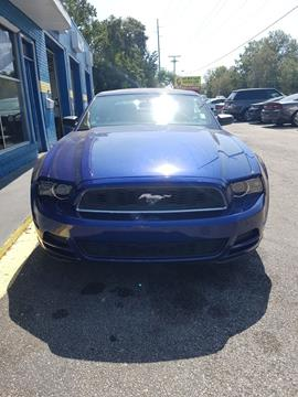2013 Ford Mustang for sale at Drive Auto Sales & Service, LLC. in North Charleston SC