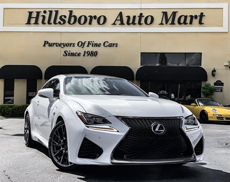 Used Lexus Rcf For Sale Florida