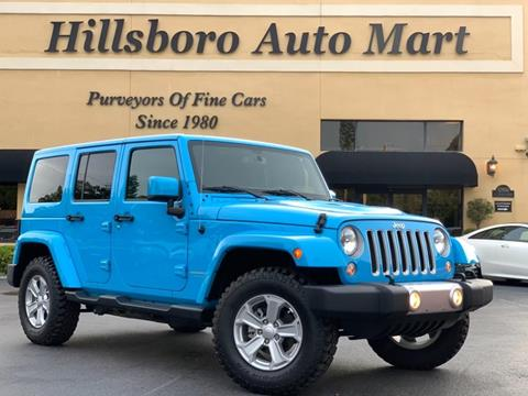 2017 Jeep Wrangler Unlimited for sale in Tampa, FL