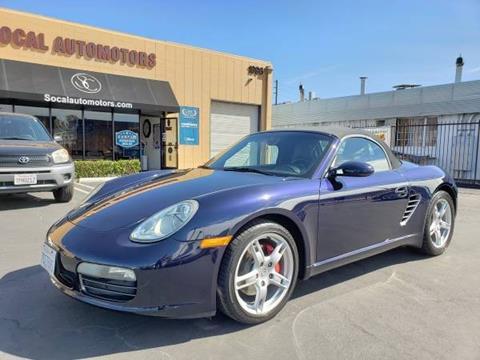 2005 Porsche Boxster for sale in Costa Mesa, CA