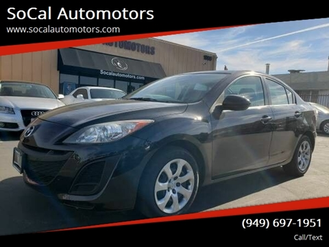 2010 Mazda MAZDA3 for sale at SoCal Automotors in Costa Mesa CA