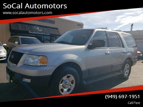 2004 Ford Expedition for sale at SoCal Automotors in Costa Mesa CA
