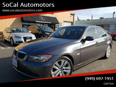 2007 BMW 3 Series for sale at SoCal Automotors in Costa Mesa CA