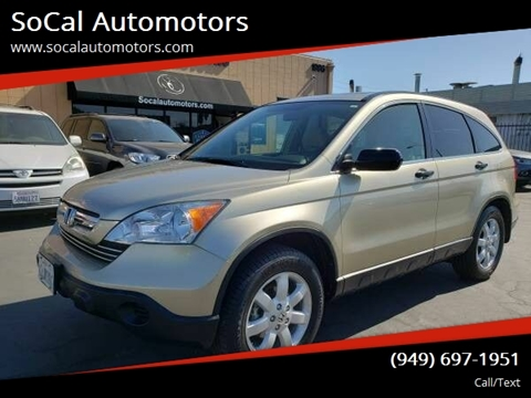 2009 Honda CR-V for sale at SoCal Automotors in Costa Mesa CA