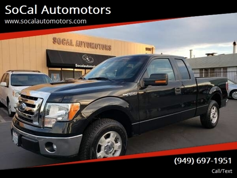 2011 Ford F-150 for sale at SoCal Automotors in Costa Mesa CA