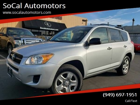 2010 Toyota RAV4 for sale at SoCal Automotors in Costa Mesa CA