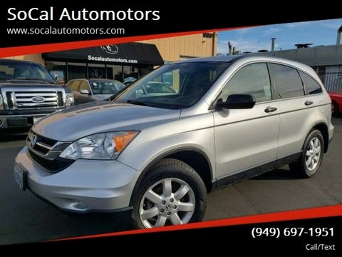 2011 Honda CR-V for sale at SoCal Automotors in Costa Mesa CA