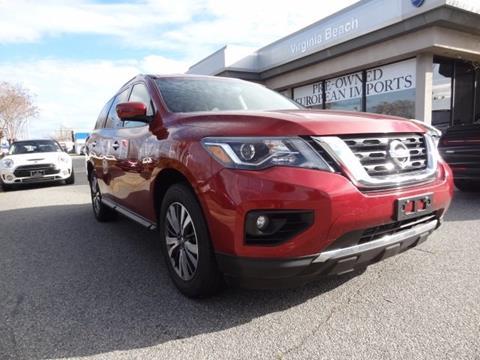 2017 Nissan Pathfinder for sale in Virginia Beach, VA