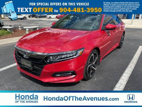 2018 Honda Accord for sale at Honda of The Avenues in Jacksonville FL