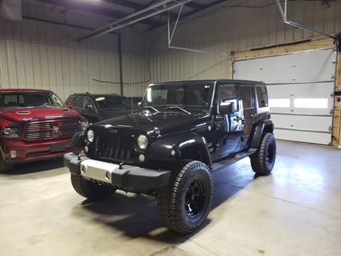 2011 Jeep Wrangler Unlimited for sale in Burton, MI