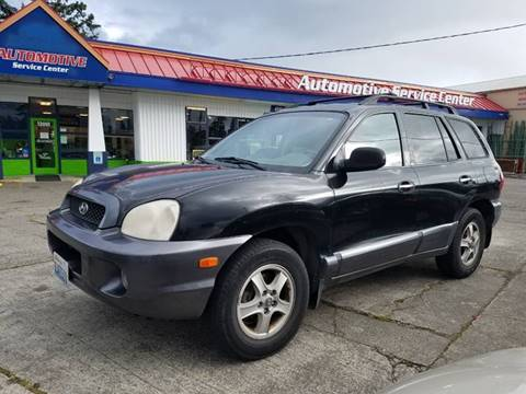 2002 Hyundai Santa Fe For Sale In Lakewood Wa