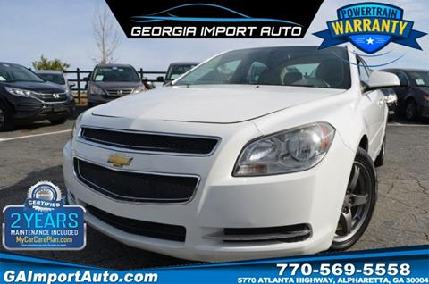 2010 Chevrolet Malibu for sale in Alpharetta, GA